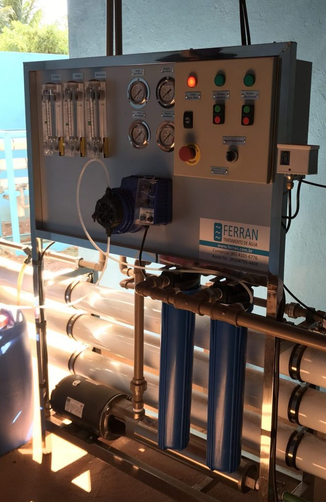 Sistema dessalinizador Mais Água